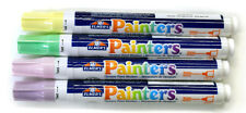 NEW Elmers Painters bullet tip acrylic craft markers- 4 light pale pastel colors