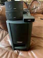 BOSE CINEMATE GS SERIES II DIGITAL HOME THEATER SYSTEM SPEAKERS SUBWOOFER TESTED
