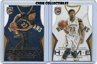 2015-16 Panini Complete RARE HOME & AWAY JERSEY INSERT lot ANTHONY DAVIS #40 sp!