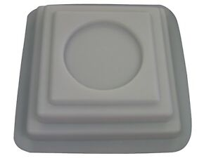 Square  Column Base Plaster or Concrete Mold 8501 Moldcreations