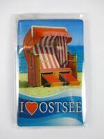 Ostsee I Love Germany Foto Magnet 8 cm Reise Souvenir,Neu