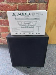 JL Audio 8 W3 V3 including an enclosure