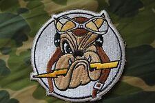 INSIGNE TISSU / BRODE  DE POITRINE 61 ST FIGHTER SQUADRON BULLDOGS  WW2