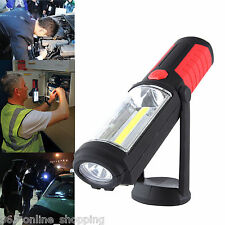 5W COB + LED  Magnetic Torch Flexible Inspection Lamp Cordless SMD Worklight