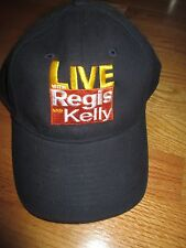 LIVE Regis and Kelly (Adjustable) Cap REGIS PHILBIN and KELLY RIPA