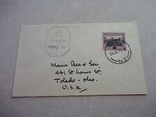 NIUE COOK ISLANDS STAMP ON 1944 WWII CENSOR COVER TO USA