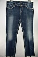 Silver Jeans Pioneer Flap Womens Bootcut Jeans Size 34x33 Meas. 36x35 Boot Cut