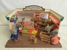 Sylvanian Families Village Store & Store Owner Figures & Mapletown Mouse Family