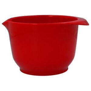 Birkmann Colour Bowl Rührschüssel rot 1,5L Servierschüssel Backschüssel
