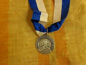 L.A.P.D.MEDAL, MEDAL FOR VALOR,2ND STYLE  VALOR ,FULL SIZE,1980s made WOLF BROWN