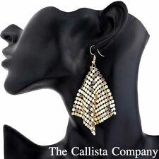 Drop/Dangle Earrings For Women (Gold) The Callista Company, Round Geometric