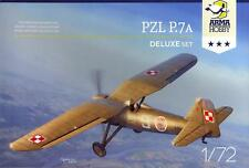 Arma Hobby Models 1/72 PZL P.7a Polish WWII Fighter Deluxe Kit