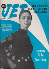 JET MAGAZINE OCTOBER 9, 1969 *MOTHERS QUIT WELFARE ROLLS FOR PAYROLLS*