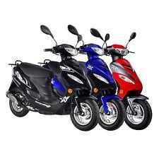 GMX 450 Sport 4 Takt 50ccm 25 km/h Scooter Roller Mofa Scooterroller Motorroller