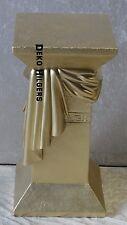 Säule Medusa Stuckgips Dekosäule Podest Tisch Deko Möbel 1040 Gold