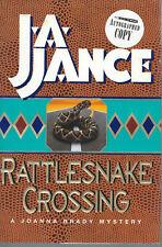 Rattlesnake Crossing Joanna Brady Mysteries J.A. Jance SIGNED First Edition