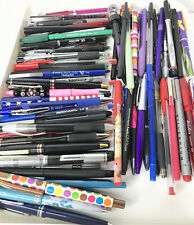 Huge Lot Various Ink Pens 105 Pilot Papermate Uniball Tol Vintage To Now