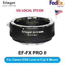 Fringer EF-FX2 Pro II AF Mount Lens Adapter for Canon EOS Sigma to Fujifilm FX