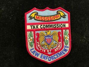Mississippi Tax Commission Law Enforcement patch