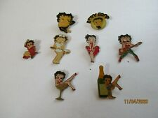 n°1 - set 8 BETTY BOOP pin - cartoons - comic