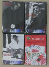 4 DVD - Jay Sankey's FIRESTARTERS Close Up By Joshua Jay Magic that get you Date