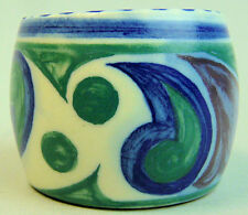 STYLISH POOLE ART DECO POTTERY HAND PAINTED EGG CUP C.1935