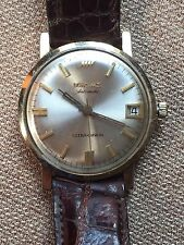 VINTAGE Men's Longines Ultra-Chron Automatic Wrist Watch 10k Gold Filled w Date