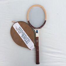 Vintage Wilson Tennis Racket Chris Evert Autograph Model w Case Racquet