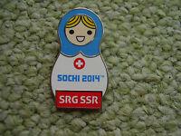 Pin SRG SSR Schweiz Sotschi 2014 passend Olympiade 2020 Tokio Olympic Game IOC