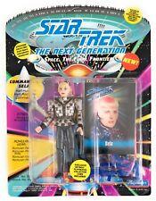 TNG Comm Sela Romulan, Tash Yar reborn 93 Star Trek Next Gen Sealed