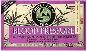 Triple Leaf Tea Blood Pressure, 20 Tea Bags