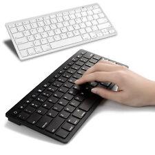 """US Wireless Keyboard For iPad 2 3 4 Mini Air 2 3 Pro 9.7""""-12.9"""" 5th 6th 7th Gen"""