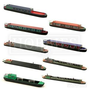 Craftline Canal Narrow Boats Models 1:76 Scale OO Gauge Coal Tug Holiday Boat