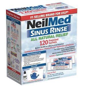 Neilmed Sinus Rinse 120 Pre Mixed Sachets