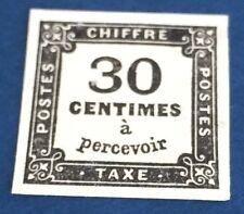 France Taxe N° 6 30 C Taxe NSG TTB Qualité Et Choix Côté 350€