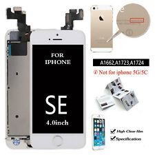 FOR iPhone SE LCD Touch Screen Digitizer Replacement +Button +Camera A1723 White