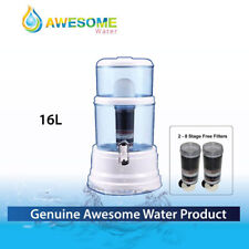AWESOME WATER NEW BenchTop Water PurifierPURIFIER CERAMIC CARBON