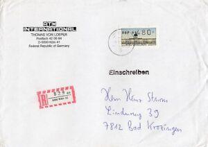 Berlin Beleg Atm 480 Inscrire