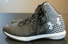 Under Armour Black & White Basketball Shoes Size 4.5Y Great Pre-Owned Condition