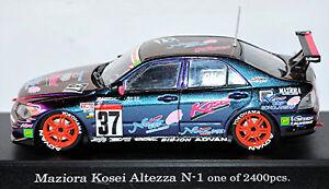 Toyota Altezza #37 Maziora Kosei 2003 Purple Effect Metal Magic-Paint 1:43