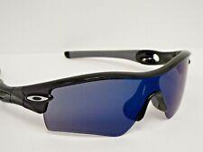 Authentic Customized Oakley Radar Polished Black Ice Iridium Sunglasses