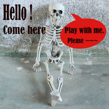Jointed Human Skeleton Decoration Halloween Party Prop Decoration Surprise XU