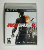 Just Cause 2 (Sony PlayStation 3, 2010) Complete