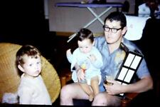 35mm Colour Slide- Father and Sons