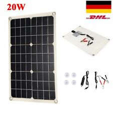 Solarpanel Solarmodul 20Watt 20W Wohnmobil 12V 12Volt Solarzelle Solar Wohnwagen