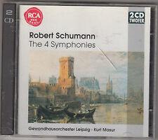 ROBERT SCHUMANN - the 4 symphonies CD