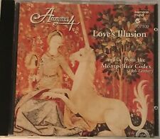 Anonymous 4 LOVE'S ILLUSION CD Music from Montpellier Codex 13th Century  1994