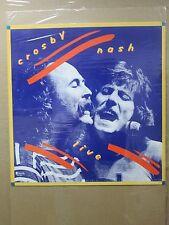 Vintage Crosby Nash Live Poster 12447