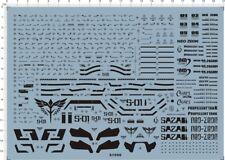 Precision Scale Detail 1/100 MG MSN-04 SAZABI Ver.Ka Gundam Model Marine Decal