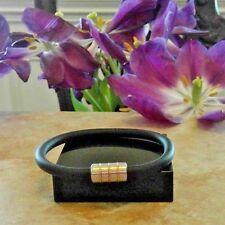 COLIBRI of LONDON Bracelet  rubber corded magnetic closure
